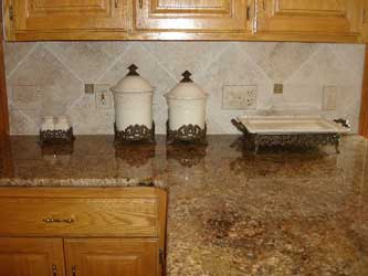 Tumbled travertine outlet covers