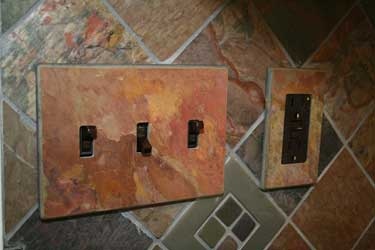 Slate toggle and decora switch covers