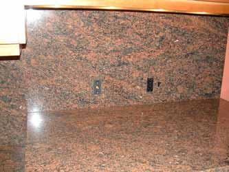 Granite decorative switchplates