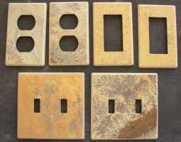Sandstone switchplates