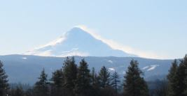 Mount Hood from our front yard