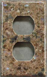 Labrador Antique granite switchplate