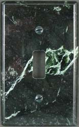 Ming Green marble switchplate cover