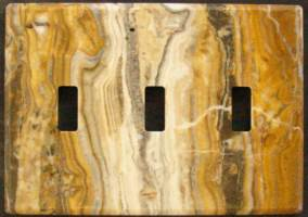 An Arizona Onyx switch plate