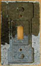 Backside of a granite switchplate