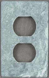 Soapstone switch plate