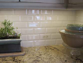 Tiled in subway tile switchplates